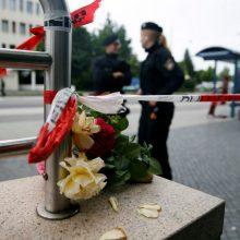 Sąmyšis Vokietijoje: per šaudynes Miunchene žuvo du žmonės