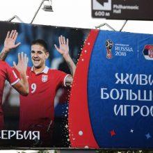 Nepaisydama kritikos Rusija rengia pasaulinę futbolo šventę <span style=color:red;>(papildyta)</span>