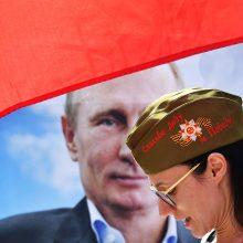JAV administracija patvirtino nepripažinsianti Rusijos įvykdytos Krymo aneksijos