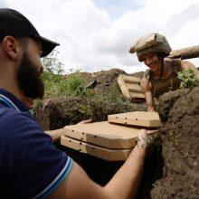 Pica fronto linijoje: Ukrainos veteranai maitina kariškius karštuosiuose taškuose