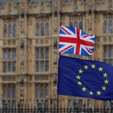 """ES tikisi, kad Didžioji Britanija pasiūlys """"įspūdingų galimybių"""" dėl """"Brexit"""""""