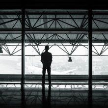 Incidentas oro uoste: suimtas į lėktuvą vėlavęs vyras
