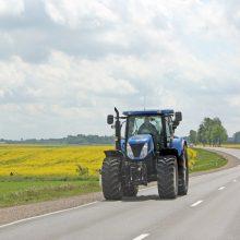 Širvintų rajone mirė traktoriaus pervažiuotas vyras
