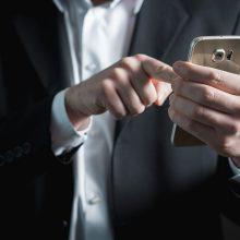 Trys žingsniai užtikrinsiantys duomenų saugumą telefone