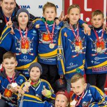Jaunieji Klaipėdos ledo ritulininkai tapo Latvijos čempionais