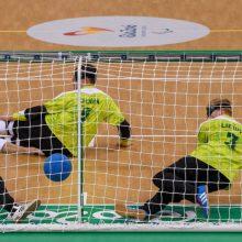 Lietuvos golbolo rinktinė pasaulio čempionate liko ketvirta