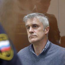 Rusijoje suimtas sukčiavimu įtariamas stambaus JAV investicijų fondo vadovas