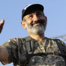 Opozicijos lyderis N. Pašinianas išrinktas Armėnijos premjeru <span style=color:red;>(papildyta)</span>