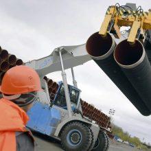 "Pusė dujotiekio ""Nord Stream 2"" jau nutiesta"