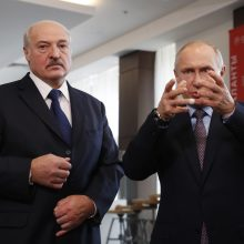 A. Lukašenka: mes su V. Putinu galime kad ir rytoj sujungti valstybes