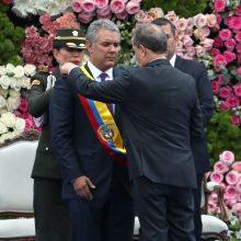 I. Duque`ė pradėjo eiti Kolumbijos prezidento pareigas