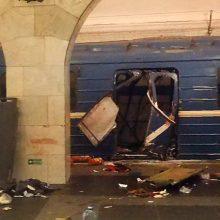 Išpuolio Sankt Peterburge vykdytojai priklausė teroristinei organizacijai Sirijoje
