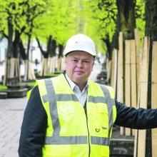 """""""Kauno tiltų"""" vadovas: nerimaujame dėl Lietuvos kelių"""