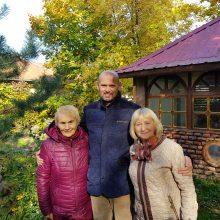 Susibūrę senjorai – jauni dvasia ir energingi