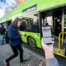 Speciali mobilioji programėlė leis patogiau keliauti Kauno viešuoju transportu