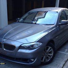Kaune iš namo kiemo pavogtas BMW – už informaciją žadamas atlygis