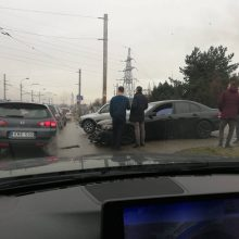 """Kaune –""""juodasis antradienis"""" BMW vairuotojams: per avarijas apgadinti keturi"""