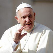 Prasideda registracija į popiežiaus vizito renginius