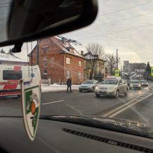 Dar viena nelaimė Kauno keliuose – partrenkta pėsčioji