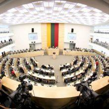 Verdiktas: gegužę spręsime, ar sumažinti Seimo narių skaičių