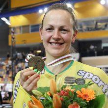 S. Krupeckaitė po šešių metų pertraukos iškovojo pasaulio čempionato medalį