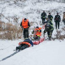 Kauno rajone nuskendo į tvenkinį įlūžęs vyras
