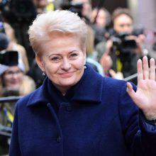Prezidentė vyksta į Lenkiją dalyvauti klimato kaitos konferencijoje