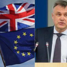 """Pramonininkai dėl """"Brexito"""": tikimės, kad mūsų institucijos čia parodys brandą"""