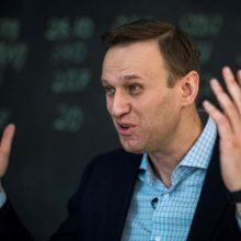Rusijos opozicijos lyderis A. Navalnas paleistas iš areštinės