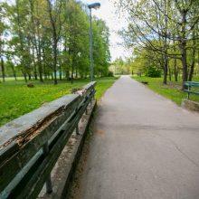 Užpuolimas Ąžuolyno parke: sumušė iki sąmonės netekimo, paliko be kelnių