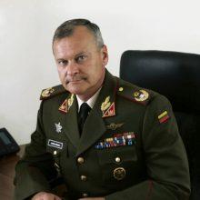 Naujasis karo akademijos viršininkas – generolas A.Vaičeliūnas