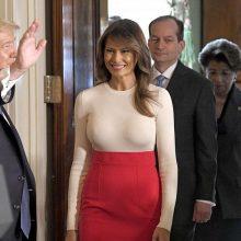 Apklausa: M. Trump – populiariausia Trumpų šeimos narė