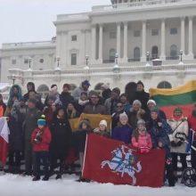 Pasaulio lietuviai bėgimu pagerbė Sausio 13-osios aukas