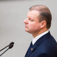 Premjeras: į aplinkos ministro postą svarstomos dvi kandidatės