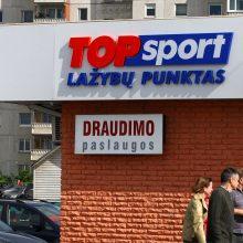 """Top Sport"" apgaudinėja klientus?"