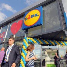 """""""Lidl"""" šių metų plėtrą užbaigs naujos parduotuvės atidarymu"""
