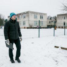 Geografija: V.Korechka yra dirbęs ir šioje mokykloje-darželyje Raudondvaryje.