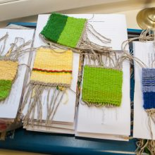 Apie jausmus Lietuvai – tekstilės kalba