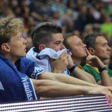Lietuviai draugiškose rungtynėse turėjo pripažinti latvių pranašumą