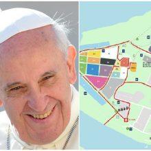 Svarbu kauniečiams ir miesto svečiams: kur sekmadienį pasveikinti popiežių?