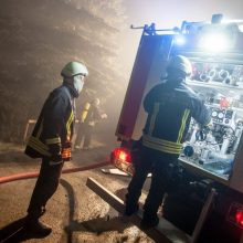 Per gaisrą Kaišiadorių rajone žuvo du žmonės