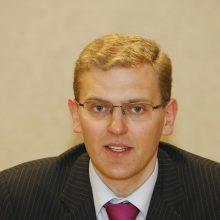 Premjeras oficialiai pateikė G. Danėliaus kandidatūrą į teisingumo ministrus