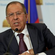 S. Lavrovas ragina Vakarus rodyti didesnę pagarbą Rusijai