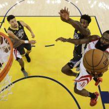 """Trilerį išgyvenę """"Rockets"""" krepšininkai išlygino serijos rezultatą"""
