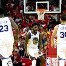 """Warriors"" – ketvirtame NBA finale iš eilės"