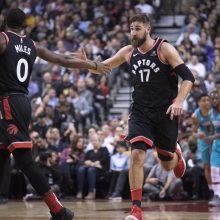 NBA: J. Valančiūnas ir D. Sabonis šventė pergales