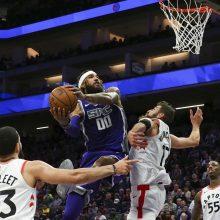 NBA: J. Valančiūno pergalė ir D. Sabonio pralaimėjimas