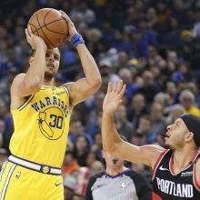 NBA čempionai pralaimėjo po pratęsimo
