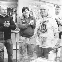 Mirė ilgametis sporto žurnalistas A. Auruškevičius
