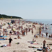 Palangos paplūdimiui tvarkyti planuojama naudoti Šventojoje iškastą smėlį